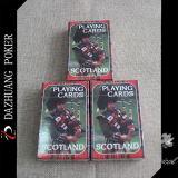 Подгонянные играя карточки для Шотландии