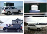 Side Awnings Car Roof Top Tent를 가진 옥외 Camping Tent