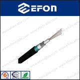 Diriger le prix blindé enterré de câble optique de fibre de mode unitaire (GYXTS)