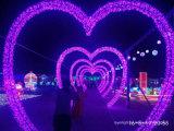 Decoração da luz da rede do casamento da luz da cortina do Natal do diodo emissor de luz