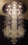 Luz de teto moderna de cristal de Phine boa K9 Decoratio grande