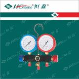 """Двойное R12, комплекты датчика AC R134A автоматические коллекторные (1/я """" соединений SAE)/коллекторные комплекты датчика/двойные водопробный клапан/клапан"""