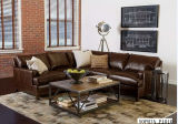 Moder Leather Corner Sofa mit Modern Sofa für Sofa Furniture