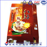 Het Vakje van het Document van het Voedsel van het Vakje van de Verpakking van het voedsel met Handvatten