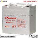 3 Jahre der Garantie-tiefe Schleife-12V 250ah Solargel-Batterie-