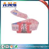 Farbenreiche geruchlose RFID gesponnene Armbänder/KonzertWristbands der Sicherheits-RFID