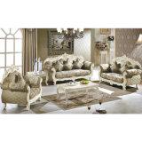 Sofà di legno del tessuto per la mobilia del salone (D929)