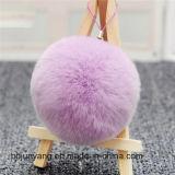新しいハンドメイドの子供のウサギの毛皮の球DIYの曖昧な毛のアクセサリ