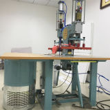 Máquina de soldadura da radiofrequência para fazer o Raincoat de PVC/EVA