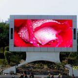 P8 tela do diodo emissor de luz do anúncio ao ar livre RGB para o vídeo