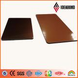 Matière composite en aluminium de spectres matériels de décoration intérieure de qualité d'Ideabond
