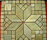 Walling Flooring/Decoration를 위한 자연적인 Stone Meshwork Mosaic Slate