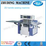 가득 차있는 자동적인 비닐 봉투 연약한 손잡이 밀봉 기계