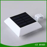 PIRセンサーの任意選択庭の正方形の塀太陽ランプLEDの壁ライト
