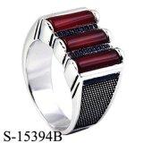 남자를 위한 유일한 디자인 형식 보석 925 순은 반지