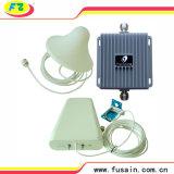 servocommande mobile 3G de signal de la servocommande 850/1900MHz GM/M de signal du répéteur 55dB de téléphone cellulaire à deux bandes cellulaire de gain