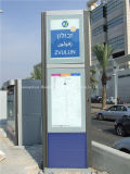 Station (HS-BS-020)를 위한 스테인리스 Steel Bus Shelter