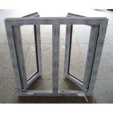Crank Handle Lock White Color UPVC Profile Casement Window K02009
