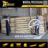 Fábrica de madera del concentrador del vector de la sacudida de la maquinaria del mineral del equipo de la minería aurífera