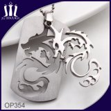 Drache Shape 2PCS Combine Cut out Pendant