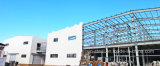 Costruzione modulare della struttura d'acciaio di basso costo come il workshop e magazzino