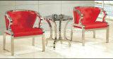 贅沢なデザイン赤い革人の余暇の椅子LC13