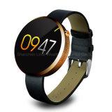 Nuevo reloj Dm360 del estilo 2016 con el teléfono de Smartwatch del monitor del ritmo cardíaco impermeable para el móvil del sistema del androide y del IOS
