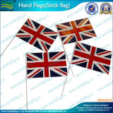 Pólos de madeira Hand Held National Hand Hold Flag (M-NF10F02004)