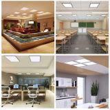 El Ninguno-Oscilar ligero 597*597mmn del LED espesa la iluminación de aluminio del panel de techo del marco LED LED (PL-48D8)