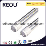 SMD2835 하나 2 옆 전원 입력 600mm 900mm 1200mm 1500mm LED T8 관 램프