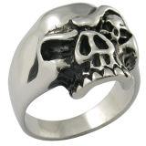 Joyería gótica del estilo del anillo del cráneo para los hombres