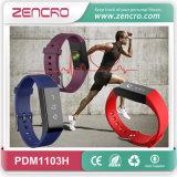 Bracelet électronique de fréquence cardiaque de Pedometer de traqueur d'activité