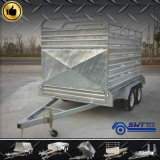 Unit Trailers를 위한 중국 Steel Material 호주 Livestock Galvanized Cattle Trailer