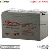 Batterie profonde de gel de cycle de la longue vie 20years 12V100ah pour les zones sensibles 40degree