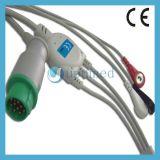 Cable de Mennen ECG con los Leadwires