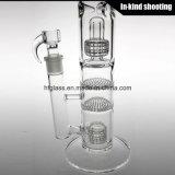 Сделано из стеклянной трубы водопровода для курить