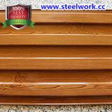 PPGI ha preverniciato la bobina d'acciaio del reticolo di legno del grano