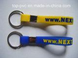 Bracelete relativo à promoção do silicone 3D do presente plástico da alta qualidade (SB-010)