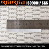 Etiqueta de cerámica del pegamento RFID del rango largo del papel brillante de la escritura de la etiqueta de la frecuencia ultraelevada RFID