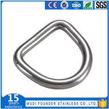 """Anello a """"D"""" rotondo saldato dell'anello dell'anello del triangolo dell'acciaio inossidabile"""