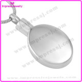 Ovale Hangend van de Juwelen van de herinnering met het Patroon Ijd9652 van het Hart