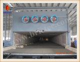 Ladrillo de la arcilla que hace con la máquina del horno de túnel