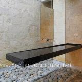 Festes Oberflächenbadezimmer Corian acrylsauerbassin