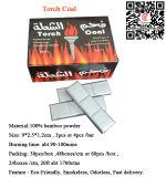 De Pure Eco Vriendschappelijke Zilveren Houtskool van Hong Qiang Flame Coal voor Waterpijp