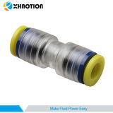 付属品の管のまっすぐな連合まっすぐな付属品を接続するプラスチック押し