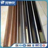 Cornière en aluminium anodisée par couleur avec la qualité et le prix concurrentiel