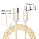 3in1 tipo cable de carga del USB Charger&Transfer de los datos androides de C/iPhone/