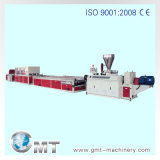 De flexibele Plastic Lijn van de Uitdrijving van het Profiel van pvc van de Machine van de Extruder Houten Plastic