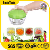 Shredder rápido do alimento manual Multi-Functional rápido vegetal do interruptor inversor para a salada de Garlics das cebolas das frutas