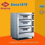 熱い販売3のデッキ6の皿の電気オーブンの価格